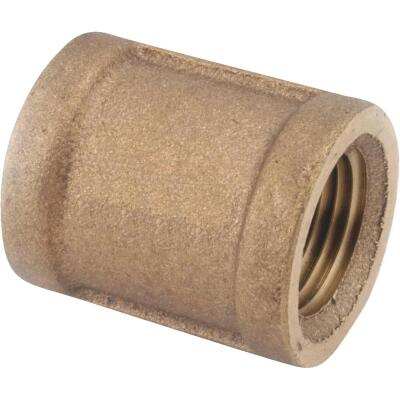 Anderson Metals 1 In. Threaded Red Brass Coupling