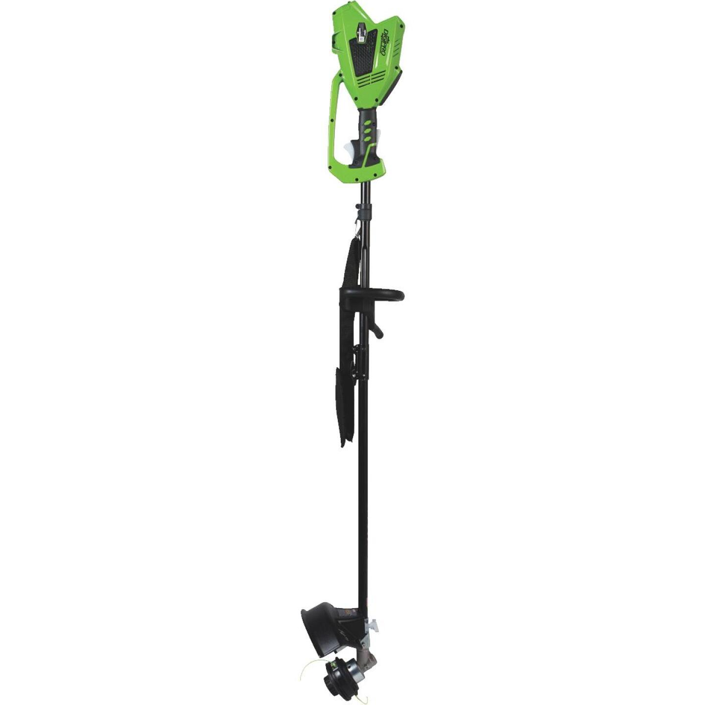 Greenworks G-Max 40V 14 In. Lithium Ion Straight Cordless String Trimmer Image 2