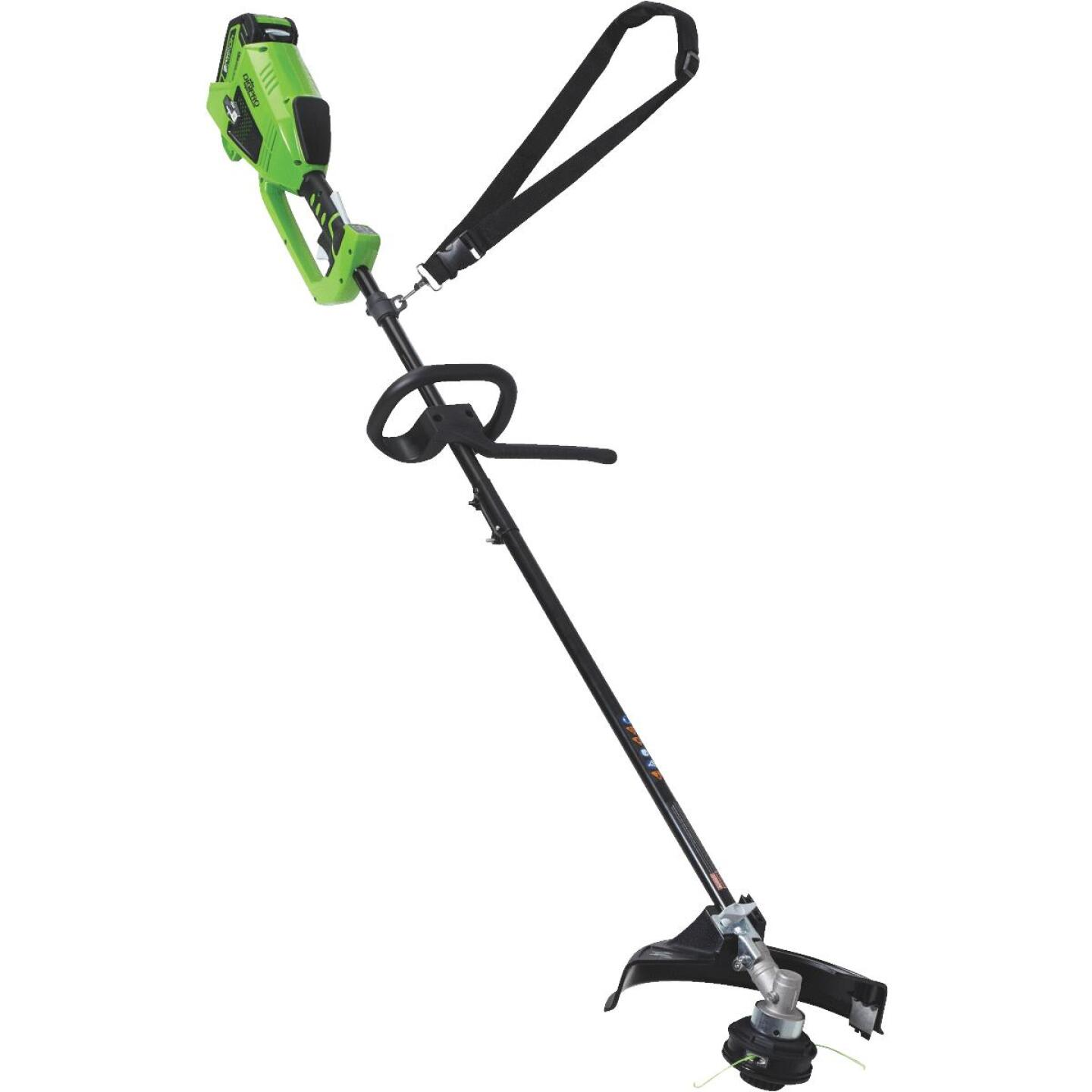 Greenworks G-Max 40V 14 In. Lithium Ion Straight Cordless String Trimmer Image 4