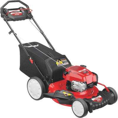 Troy-Bilt 21 In. 163cc Briggs & Stratton High Wheel Rear Wheel Drive Self-Propelled Gas Lawn Mower